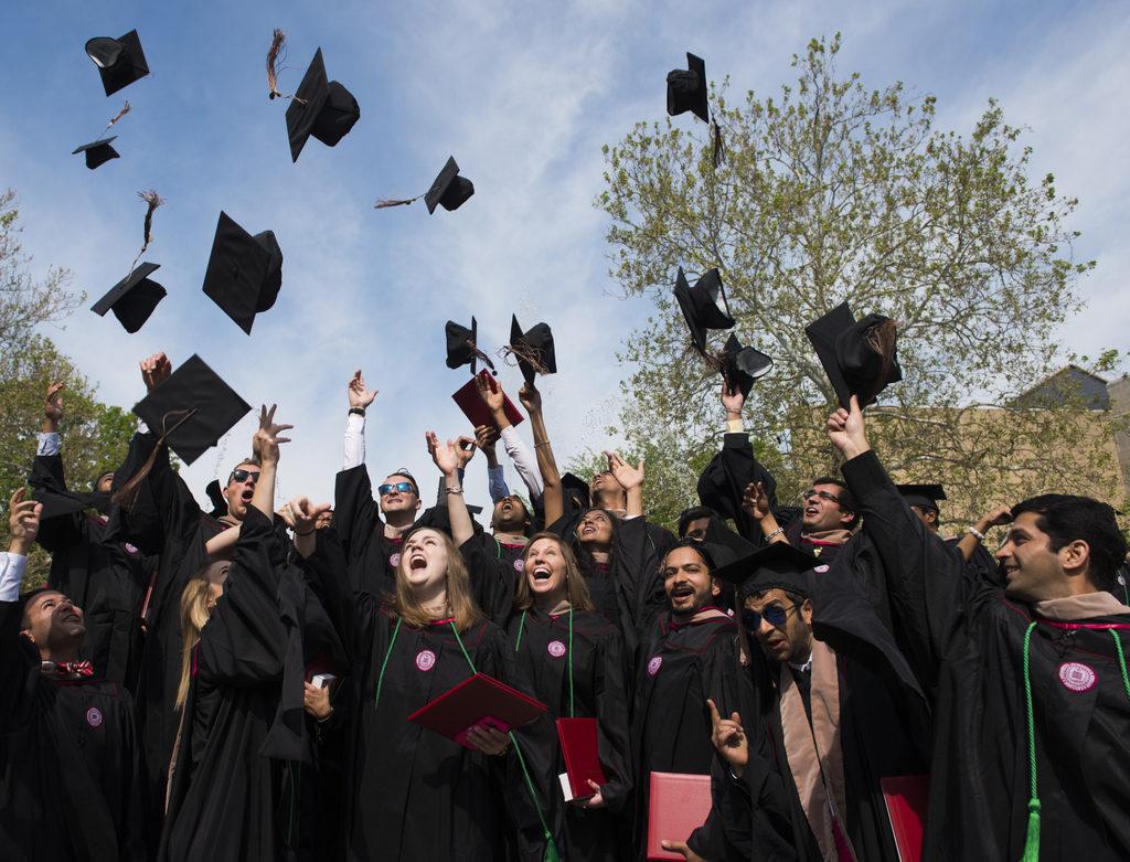 Graduación de MBAs, Kelley School of Business. Indiana University.